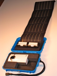 flip case and solar charger